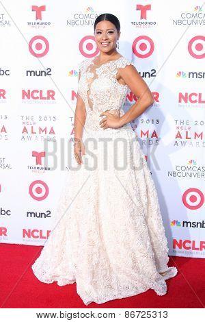 LOS ANGELES - SEP 27:  Gina Rodriguez at the 2013 ALMA Awards - Arrivals at Pasadena Civic Auditorium on September 27, 2013 in Pasadena, CA