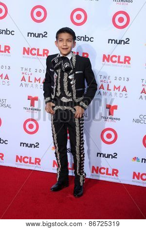 LOS ANGELES - SEP 27:  Sebastien de la Cruz at the 2013 ALMA Awards - Arrivals at Pasadena Civic Auditorium on September 27, 2013 in Pasadena, CA