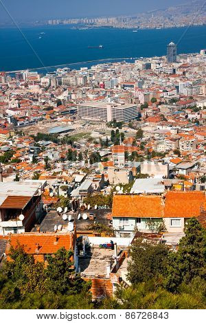 Izmir, Birds Eye View with Agora
