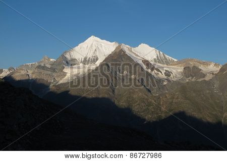 Weisshorn At Sunrise
