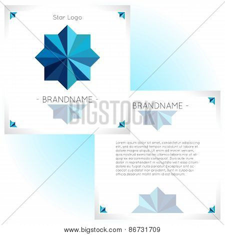Abstract Brochure Flyer Design Template
