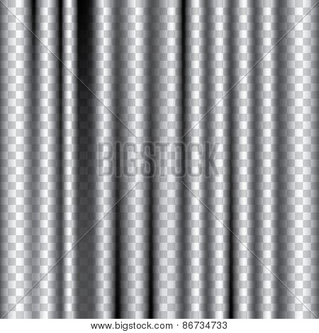 vector editable transparent curtain