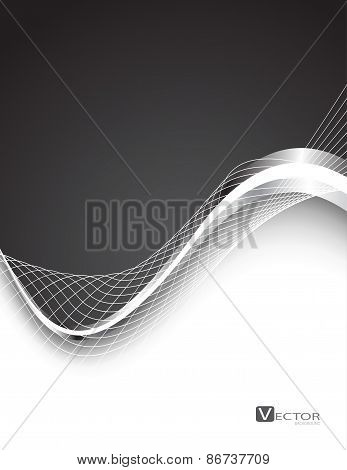 Stylish Abstract Background. Vector