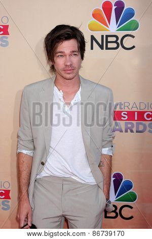 LOS ANGELES - MAR 29:  Nate Ruess at the 2015 iHeartRadio Music Awards at the Shrine Auditorium on March 29, 2015 in Los Angeles, CA