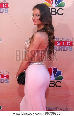 LOS ANGELES - MAR 29:  Hannah Stocking at the 2015 iHeartRadio Music Awards at the Shrine Auditorium on March 29, 2015 in Los Angeles, CA