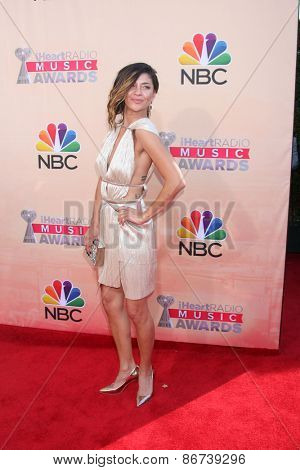 LOS ANGELES - MAR 29:  Jessica Szohr at the 2015 iHeartRadio Music Awards at the Shrine Auditorium on March 29, 2015 in Los Angeles, CA