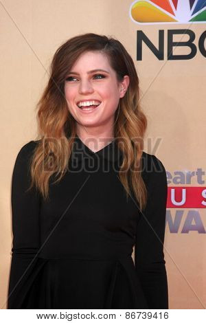 LOS ANGELES - MAR 29:  Sydney Sierota at the 2015 iHeartRadio Music Awards at the Shrine Auditorium on March 29, 2015 in Los Angeles, CA