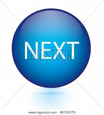 Next blue circular button