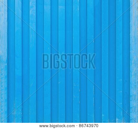 Blue Cargo Ship Container Texture
