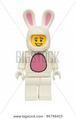 Bunny Suit Guy Lego Minifigure