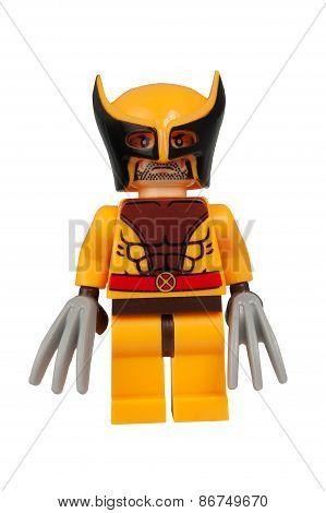 Wolverine Custom Lego Minifigure