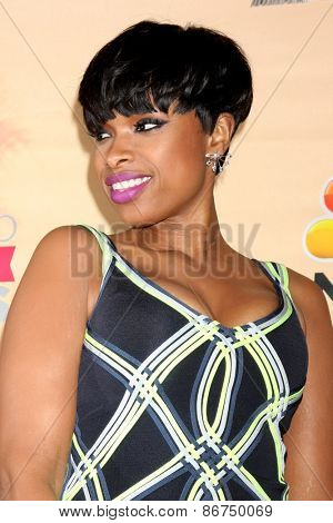 LOS ANGELES - MAR 29:  Jennifer Hudson at the 2015 iHeartRadio Music Awards Press Room at the Shrine Auditorium on March 29, 2015 in Los Angeles, CA