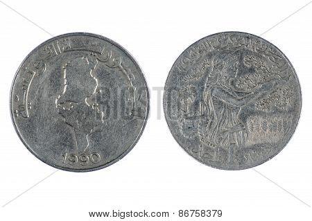 Tunisia Coin Dinar