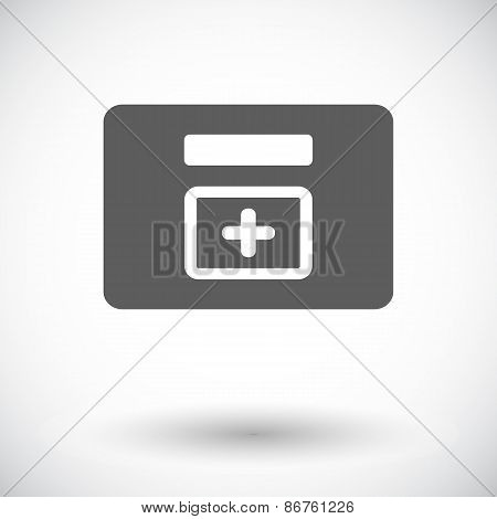 First aid kits icon.