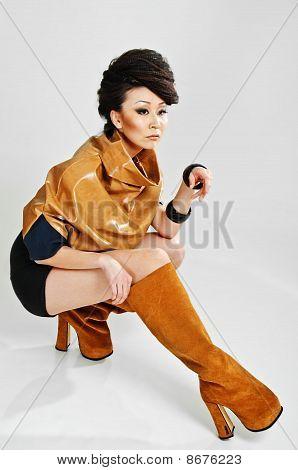Sitting Beauty Asian
