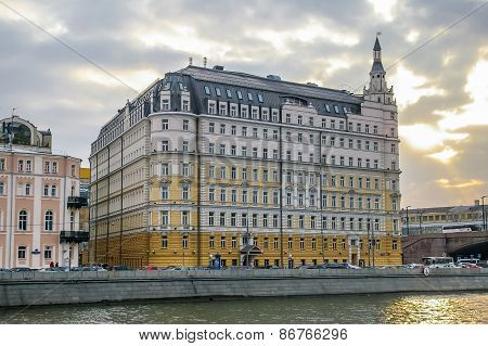 View On Baltschug Kempinski Hotel In Moscow