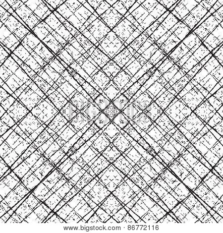 Fiber Grid Abstract Diagonale