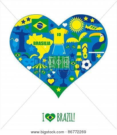Brazil background