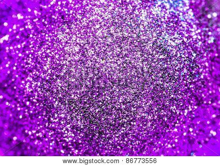 Purple Shiny Background, Holiday Decoration