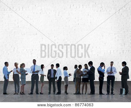 Business People Team Teamwork Collboration Thinking Collaboration Concept