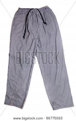 Chef 's Plaid Pants
