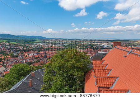 Castle of Wernigerode, Harz, Germany,