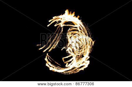 Abstract Fire Figure