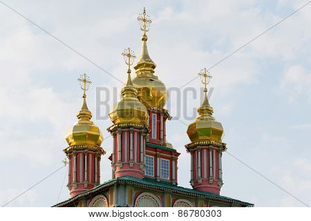 church in the Trinity Sergius Lavra in Sergiev Posad. Russian Federation