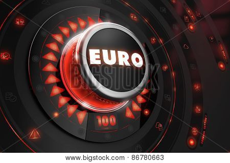 Euro - Regulator on Black Console.