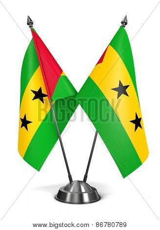 Sao Tome and Principe - Miniature Flags.