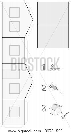 House Building Easy Template