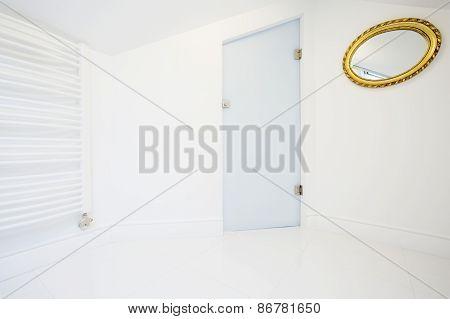 Bright Bathroom Space In The Attic