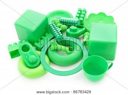 Green Plastic Toys