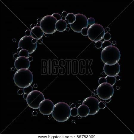 Soap Bubble Ring Black