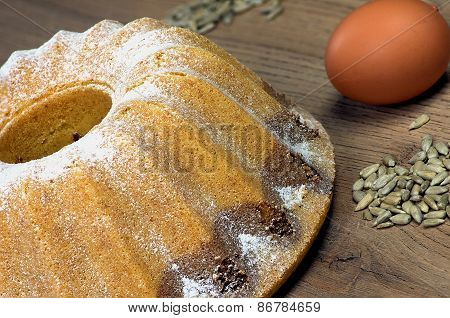Home Bundt Cake With Egg