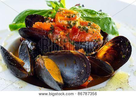 Neapolitan style clams
