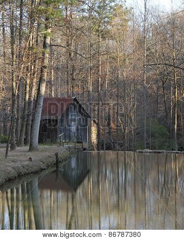 Historic Grist Mill - Georgia
