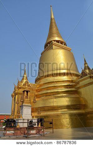 A Golden Pagoda, Grand Palace, Bangkok