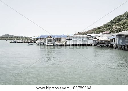 Thailand Fishing Village