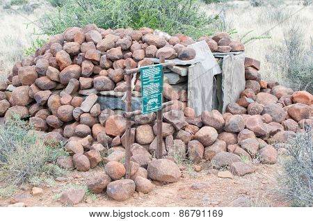 Hyena Trap In The Karoo National Park