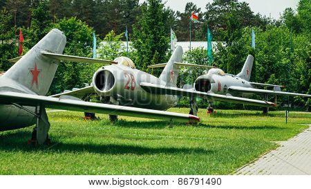 MiG-17 and MiG-19 is Russian Soviet high-subsonic fighters aircr