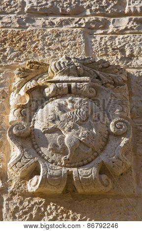 Coat-of-arms. Giovinazzo. Puglia. Italy.