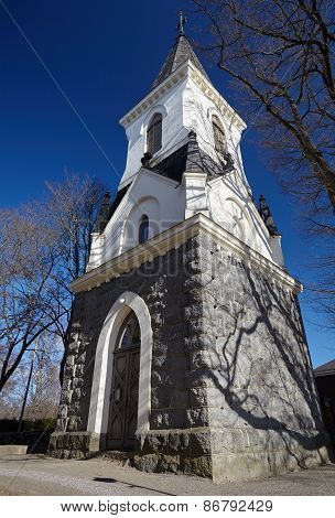 High Steeple Of A Church