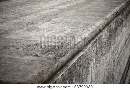 Gray Concrete Wall Corner