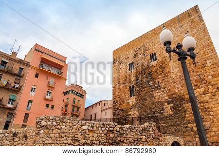 Ancient Roman Forum Of Tarragona, Catalonia, Spain