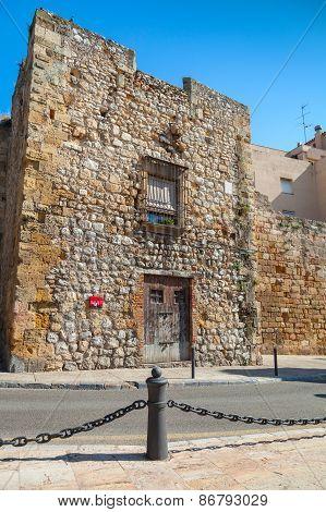 Street View Of Via Del Imperi Roma, Tarragona, Spain