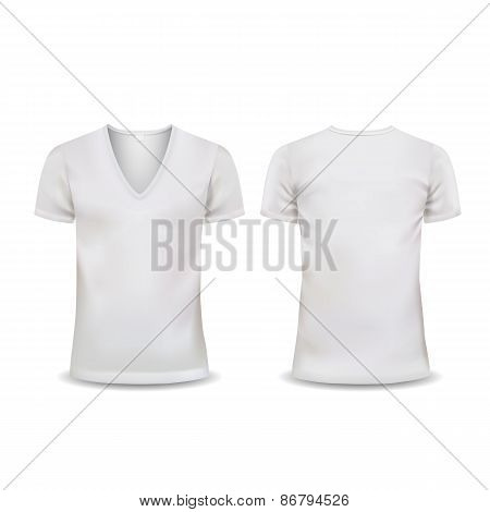 Vector T-shirt, Design template, women and men