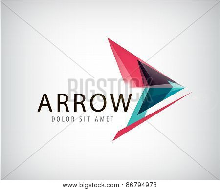 vector abstract arrow