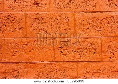 Wall Blocks Orange.