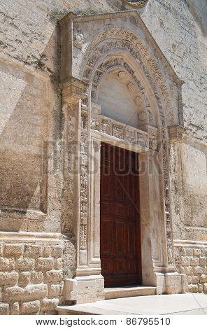 Church of St. Nicola dei Greci. Altamura. Puglia. Italy.